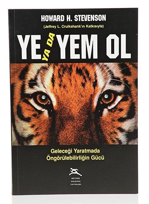 Boyner Yayınları Ye Ya Da Yem Ol Renksiz